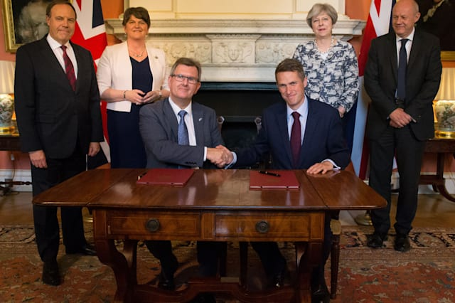 DUP and Conservative deal - news for pensioners