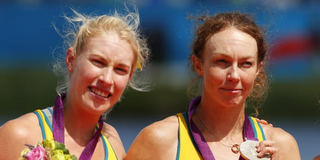 Kim and Brooke with silver in London. Kim has won countless races yet names this as her favourite. There's...
