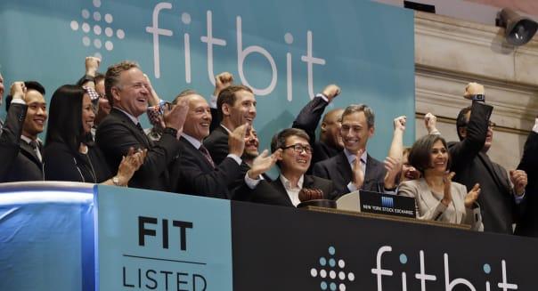 Financial Markets Wall Street Fitbit IPO