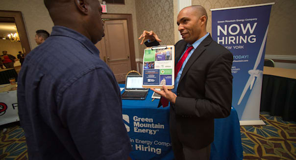 job fair leading economic indicators conference board economy labor market