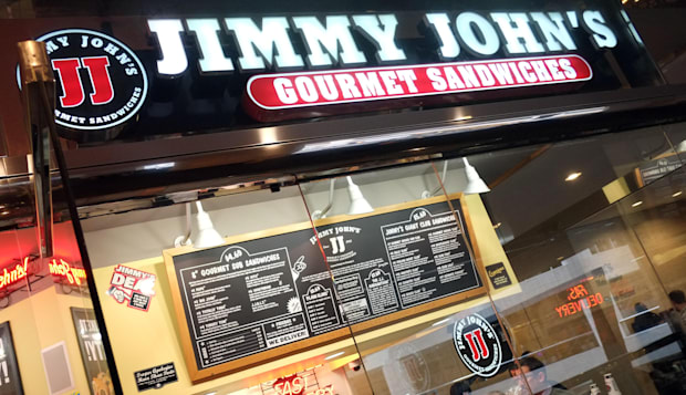 Feb. 23, 2013 - Minneapolis, MN, U.S. - Jimmy John's Signage. ] TOM WALLACE ¥ twallace@startribune.com _ Assignments #2002778