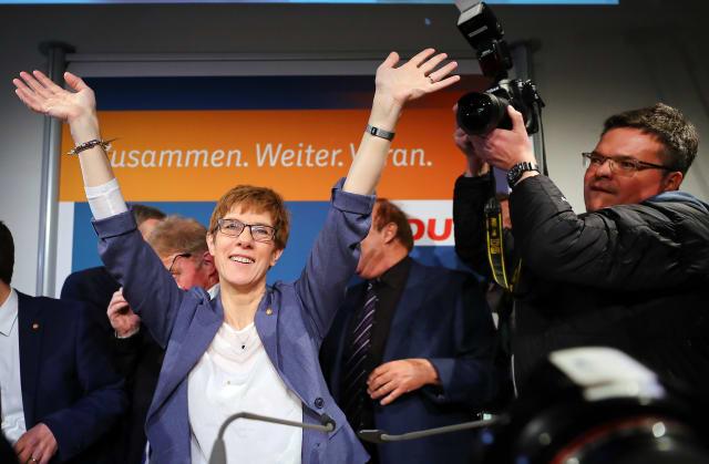 GERMANY-ELECTION/SAARLAND