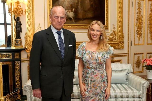 Kylie Minogue Britain-Australia Society Award