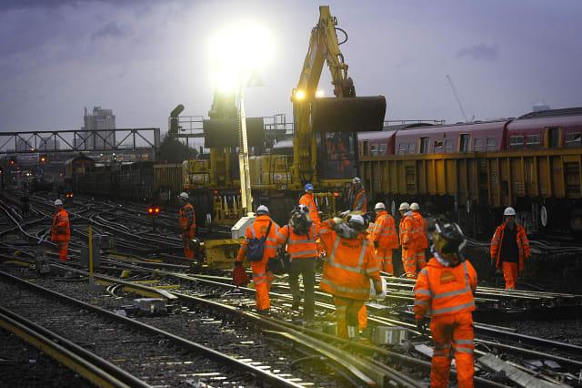 Rail engineering works over Christmas