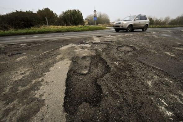 Road repairs bill soar