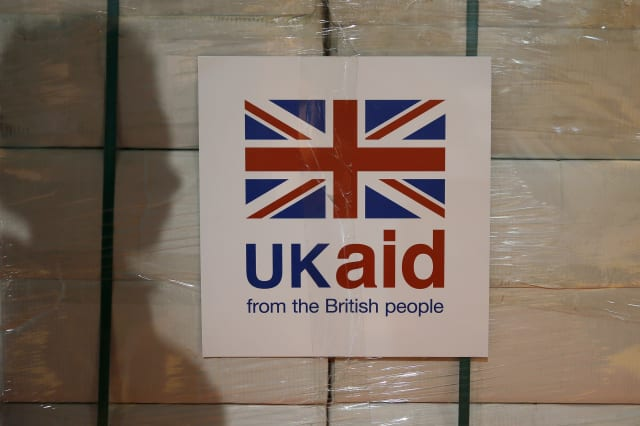 Aid budget report