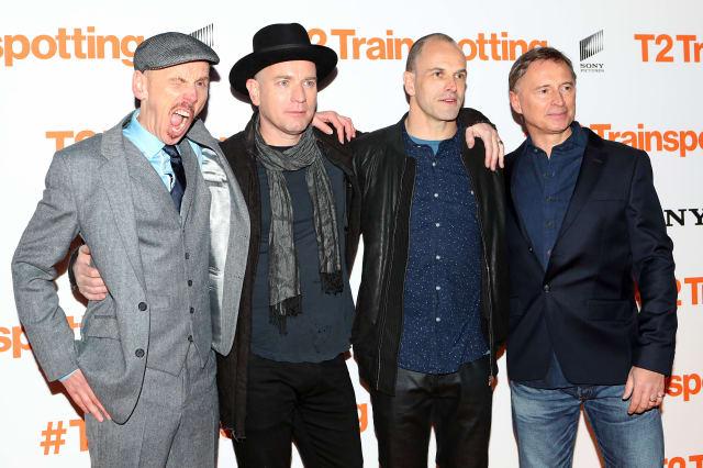 Trainspotting 2 premiere - Edinburgh