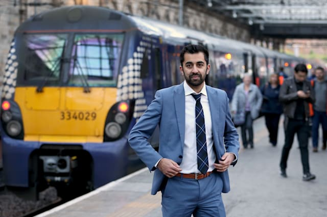 Humza Yousaf caught driving without insurance