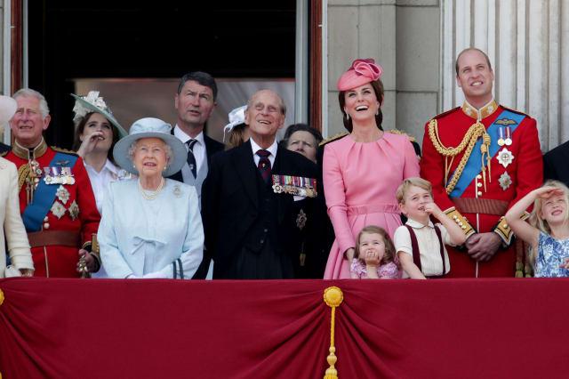 Buckingham Palace accounts