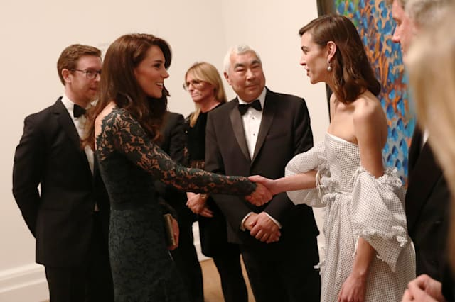 Royal visit to National Portrait Gallery