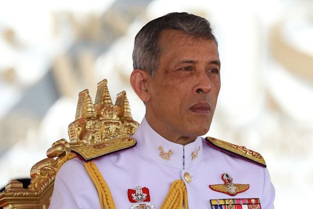 This photo, taken on May 12, is probably more the image Thai officials are going