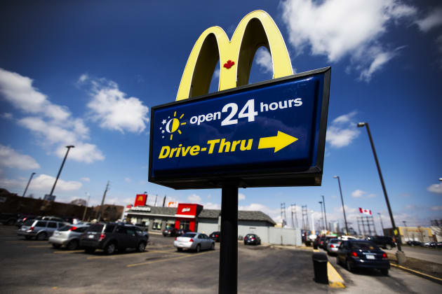 Service industries like McDonald's have had to increase wages in places like Fort McMurray, Alta. in...