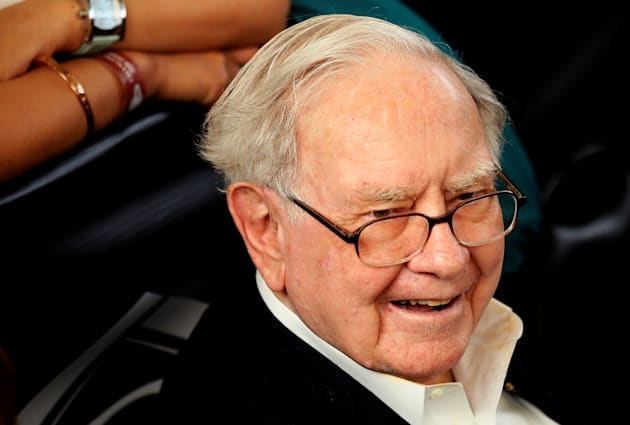 Berkshire Hathaway CEO Warren Buffett at the Berkshire Hathaway annual meeting weekend in Omaha, Nebraska,...