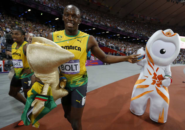 His world record was motivated by TRYING TO RUN AWAY FROM THAT
