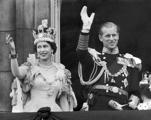 Queen Elizabeth Ii And The Duke Of Edinburgh In 1953