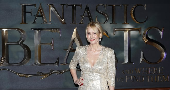 J.K. Rowling Shares Cryptic 'Fantastic Beasts' Sequel Script Photo