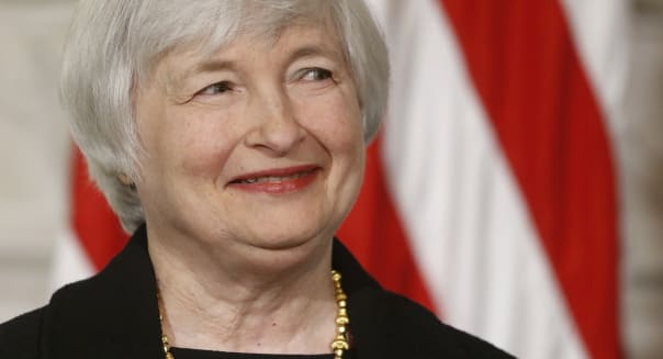 Obama Federal Reserve (Janet Yellen, vice chair of the Board of Governors of the Federal Reserve System, listens in the State Di