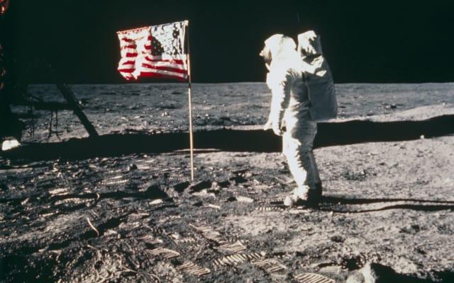Apollo 11astronaut Edwin �Buzz� Aldrin, on the Moon, 1969.