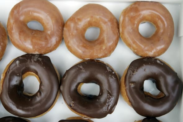 Earns Krispy Kreme