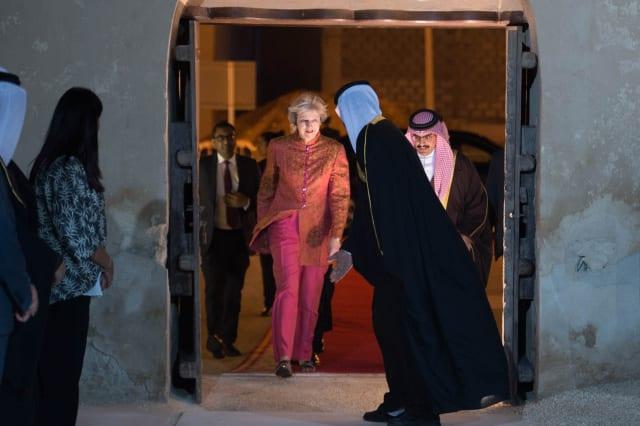 Prime Minister Theresa May visits Bahrain