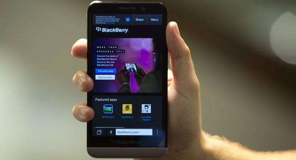 BlackBerry earns