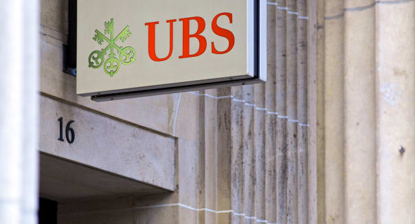 UBS AG Bank Branches And Logos Ahead Of Earnings