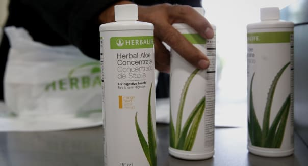 Operations Inside The Herbalife Distribution Center