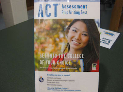 New Arrivals October 2012:  ACT Assessment Plus Writing Test