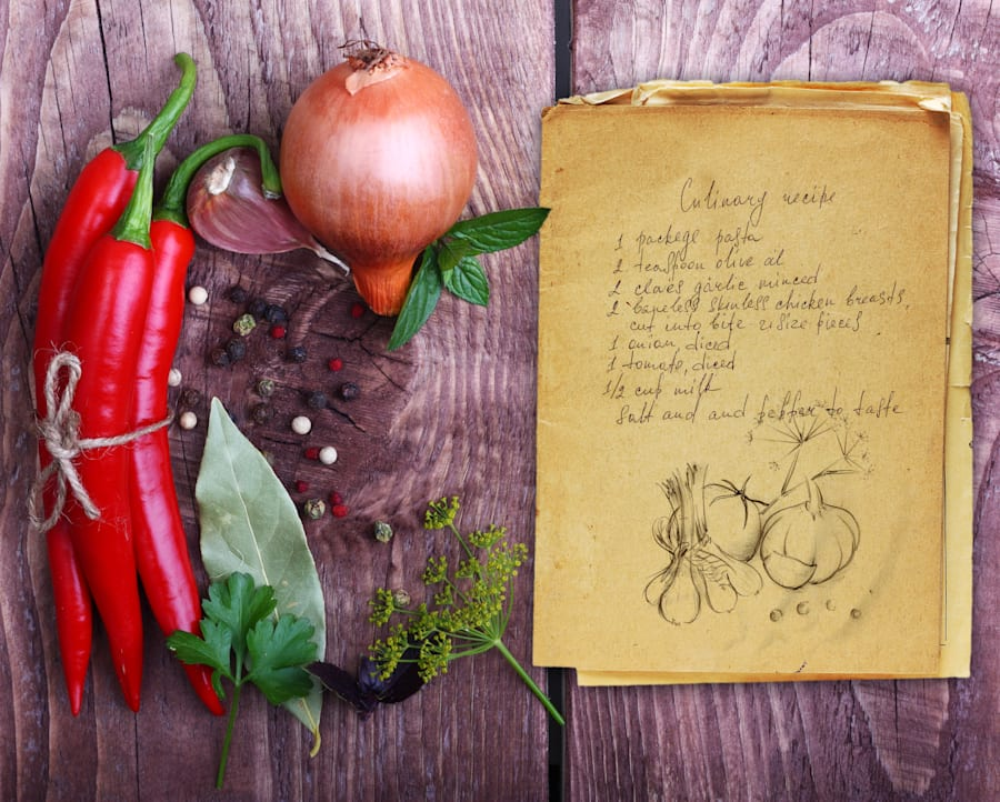 It's the perfect time to dig through nan's old recipes and experiment with new