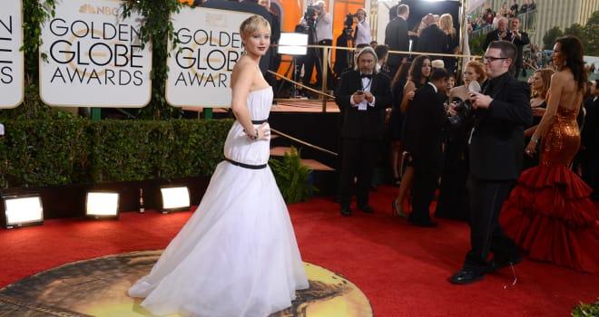 71st Annual Golden Globe Awards red carpet 2014
