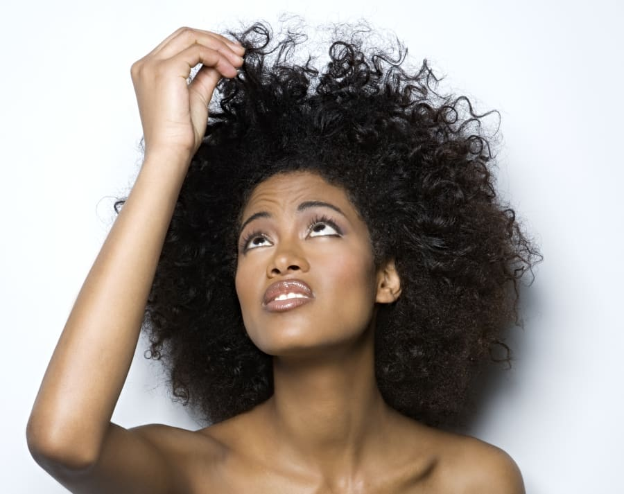 Damaged and thinning hair can be a sign of iron