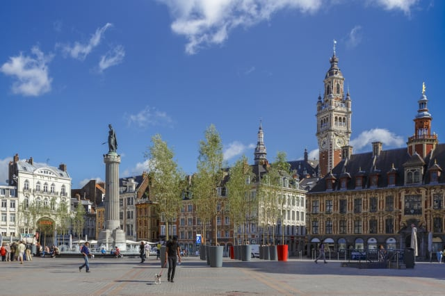 Grand Place is Lille's city centre sqaure