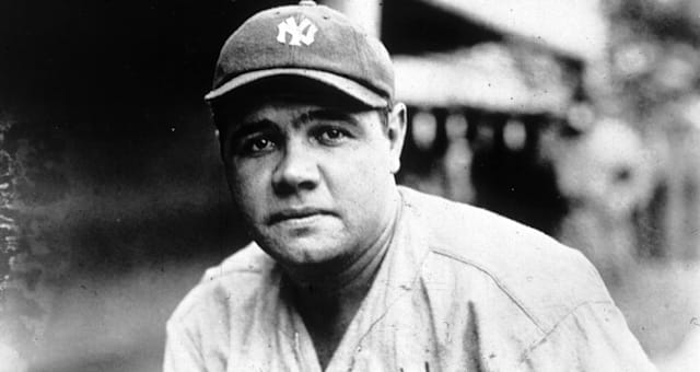New York's  Babe Ruth