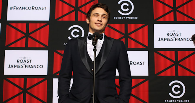 James Franco at 'The Comedy Central Roast of James Franco' on August 25, 2013
