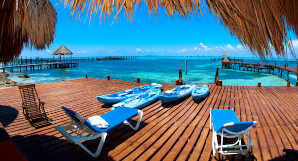 luxury vacation concept. mexico....