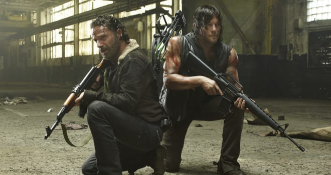 The Walking Dead, Rick, Daryl Dixon