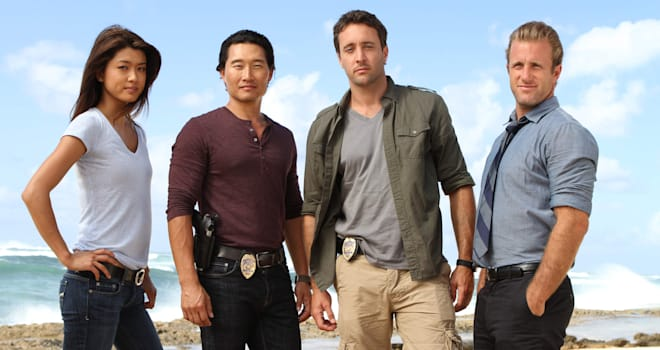 cast of Hawaii 5-0
