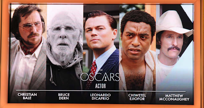 Best Actor Oscars 2014 Predictions