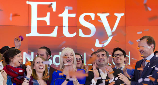 APTOPIX Etsy IPO