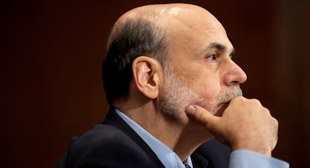 July 14, 2011 - Washington, District of Columbia, U.S. - Federal Reserve Board Chairman BEN BERNANKE testifies before a Senate B