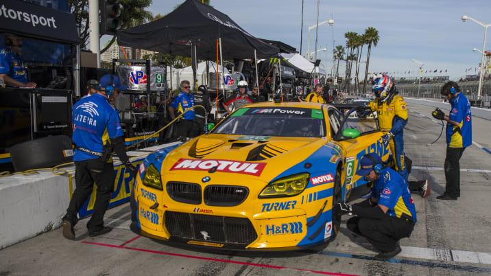 Turner Motorsport Pit Lane Long Beach Grand Prix