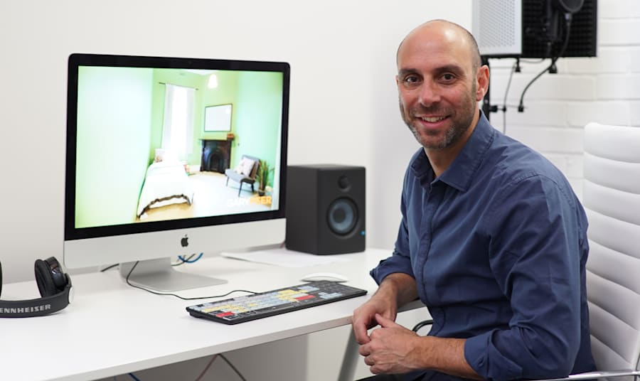 Visual Domain director Daniel Goldstein went from making five videos a week to working with corporate...