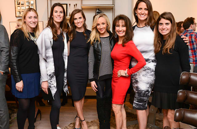 Jennifer Ross, Katie Warner Johnson, Susan Lucci, Nastia Liukin, Allison Williams, Caroline Gogolak, Cristina Ros Blankfein