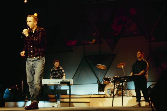 Bronski Beat Perform On Stage