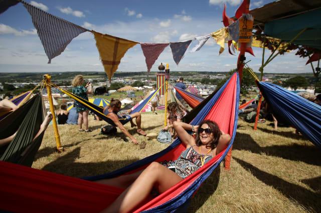 Glastonbury Festival 2014 - Preparations - Worthy Farm - Pilton, Somerset