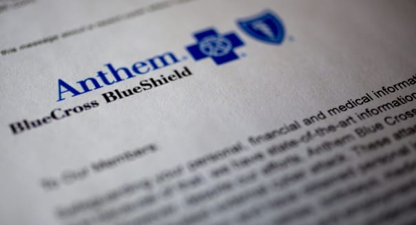 Anthem Inc. Hacked in 'Sophisticated' Attack on Customer Data