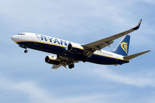 Holidaymaker caught smoking in toilet on Ryanair flight arrested in Manchester