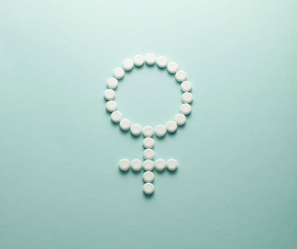 The pill is made from synthetic sex