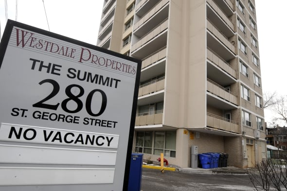 11-dec-2008 CMHC figures released show that vacancy rates for apartments are tighter at 2.1 per cent