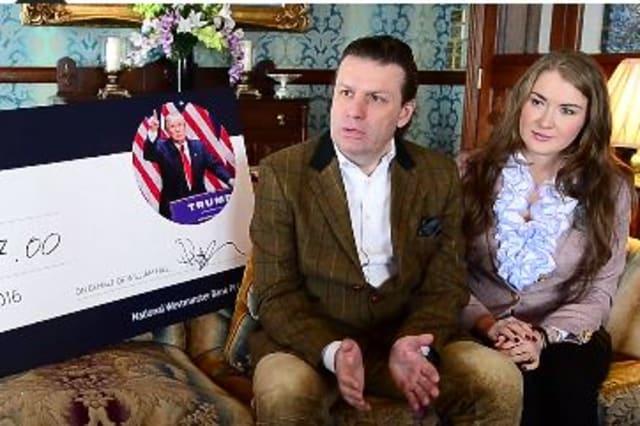 Trump bet nets Brit £100,000